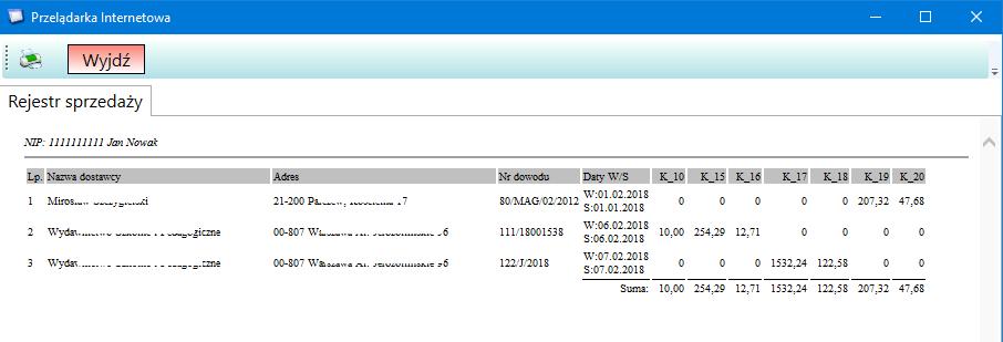 prosty interfejs umożliwia zmianę nazw plików.